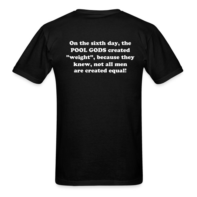 On the sixth day... T-shirt.