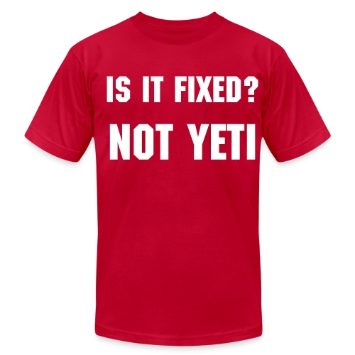 NOT YETI - Mens - Men's Fine Jersey T-Shirt