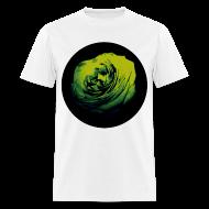 T-Shirts ~ Men's T-Shirt ~ Mens Green Rose Circle Street Style Fashion T-Shirt