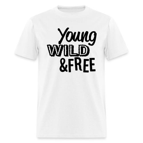 Young Wild Free - Men's T-Shirt