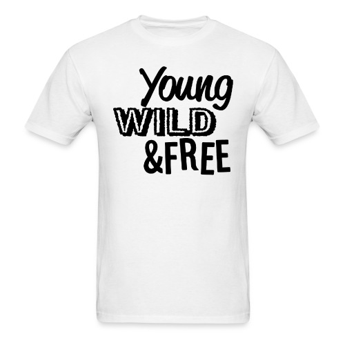 Young Wild Free - Men's T-Shirt