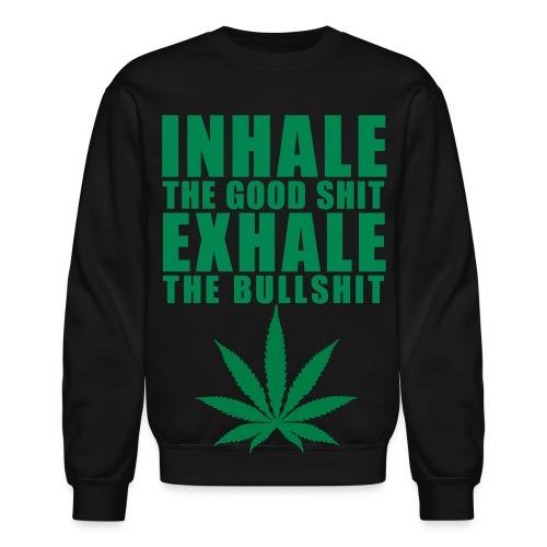 marijuana crewneck - Crewneck Sweatshirt