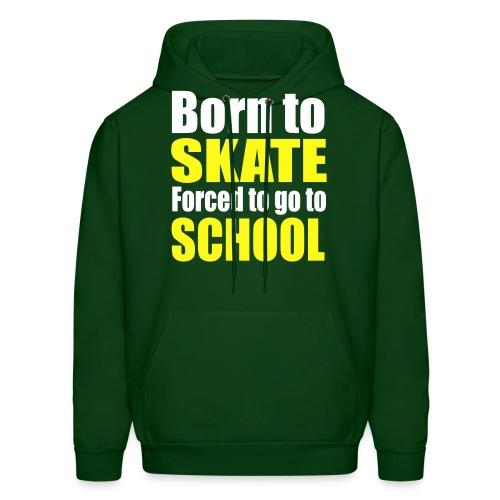 Born to Skate Mens Hoodie - Men's Hoodie