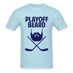 Hockey Playoff Beard Shirt - Men's T-Shirt