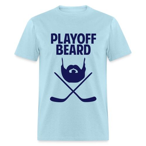 Hockey Playoff Beard Shirt - Men's T-Shirt