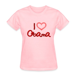 I Heart OBAMA - Women's T-Shirt