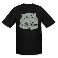 Sleeping Cat - Men's Tall T-Shirt