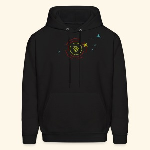 Spacecastle (neon, free shirtcolor selection) - Men's Hoodie