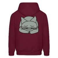 Sleeping Cat - Men's Hoodie