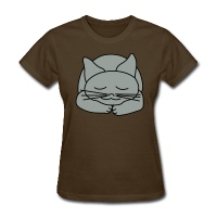 Sleeping Cat - Women's T-Shirt