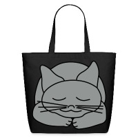 Sleeping Cat - Eco-Friendly Cotton Tote