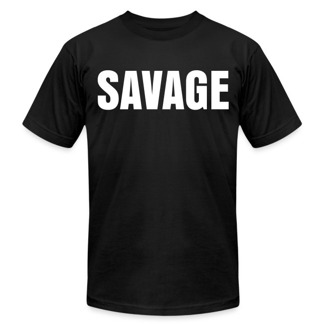 Mens Less Talky, Moar Lifty SAVAGE Tee
