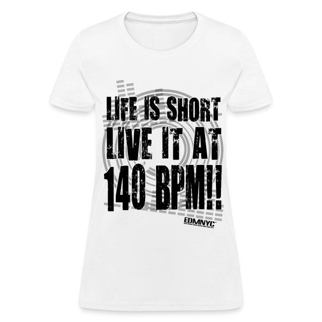 LIVE LIFE AT 140BPM