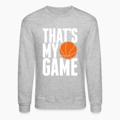 basketball - that's my game Long Sleeve Shirts