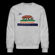 Long Sleeve Shirts ~ Crewneck Sweatshirt ~ Detroit Republic