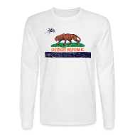 Long Sleeve Shirts ~ Men's Long Sleeve T-Shirt ~ Detroit Republic
