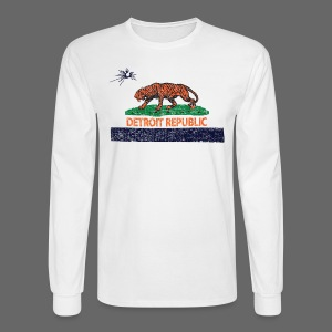 Detroit Republic - Men's Long Sleeve T-Shirt