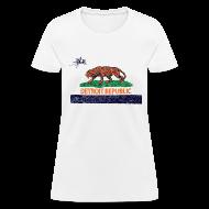 Women's T-Shirts ~ Women's T-Shirt ~ Detroit Republic