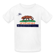 Kids' Shirts ~ Kids' T-Shirt ~ Detroit Republic