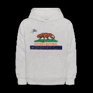 Sweatshirts ~ Kids' Hoodie ~ Detroit Republic
