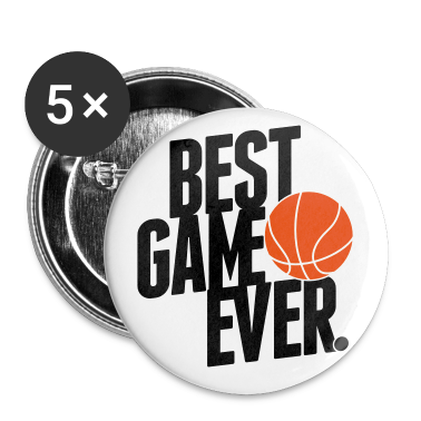 basketball - best game ever Buttons