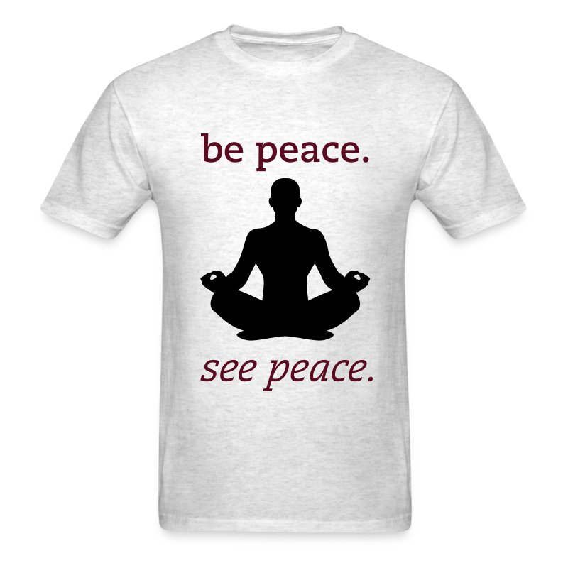 Meditating Man - Men's T-Shirt
