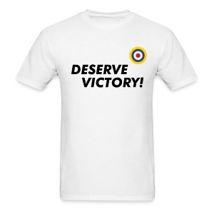 UK: Deserve Victory! - Basic Tee - Men's T-Shirt