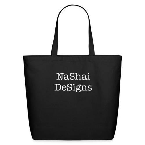 NASHAI DESIGNS LG TOTE - Eco-Friendly Cotton Tote