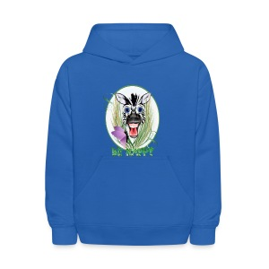 Be Happy Oval - Kids' Hoodie