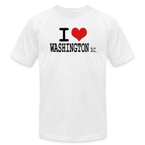 I Love DC CLM - Men's Fine Jersey T-Shirt