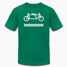 Men's Tandemonium Tandem Bicycle T-shirt