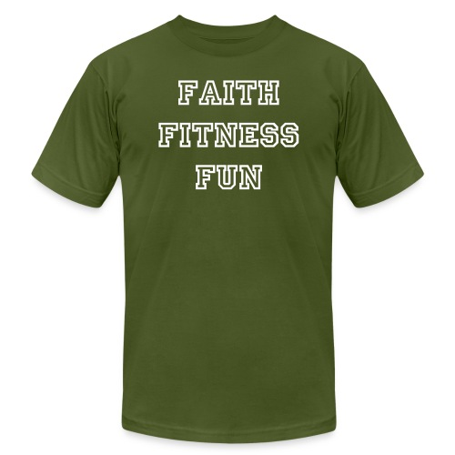 Men's Faith Fitness Fun Shirt - Men's  Jersey T-Shirt
