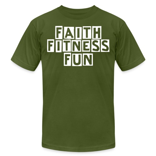 Men's Faith Fitness Fun Shirt - Men's Fine Jersey T-Shirt