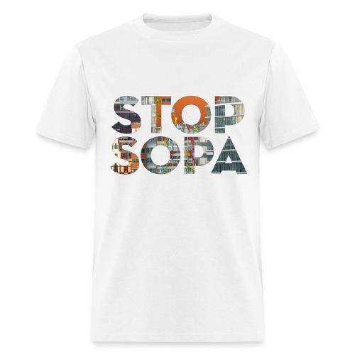 STOP SOPA - Men's T-Shirt