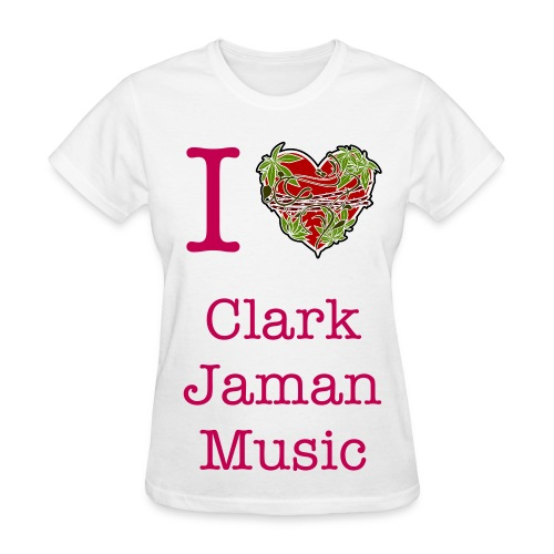 I Heart Clark Jaman Music Men's Tee - Women's T-Shirt