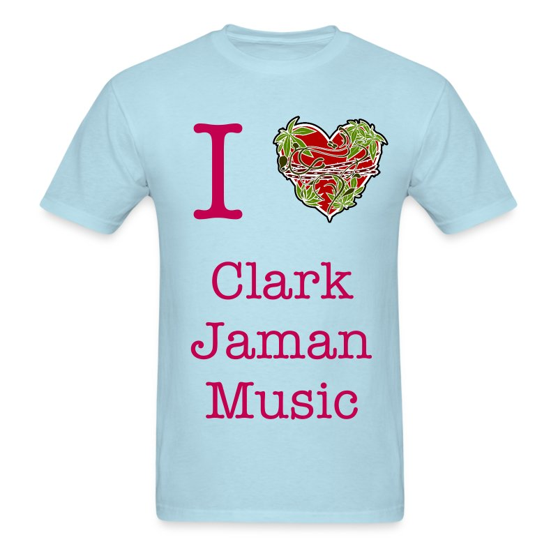 I Heart Clark Jaman Music Men's Tee - Men's T-Shirt