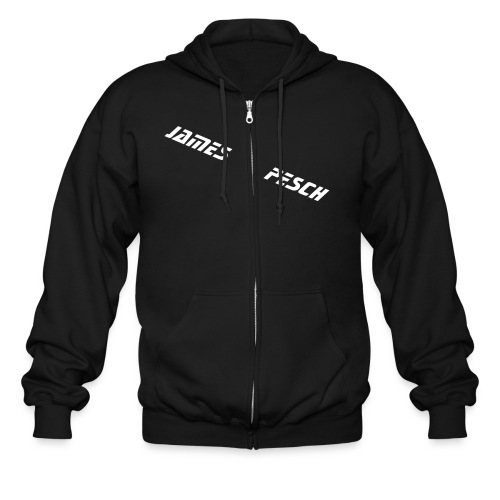 Black Zipper - Men's Zip Hoodie