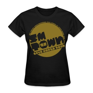 [KOR] SMTOWN LIVE 2012 V.1 (Metallic Gold) - Women's T-Shirt