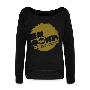 [KOR] SMTOWN LIVE 2012 V.1 (Metallic Gold) - Women's Wideneck Sweatshirt