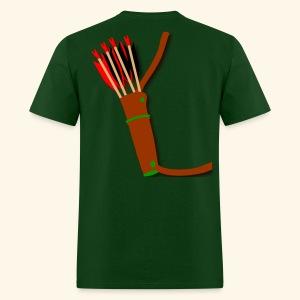 quiver archery design by patjila2 - Men's T-Shirt