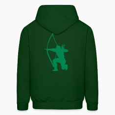 longbow english archer medieval symbol Hoodies