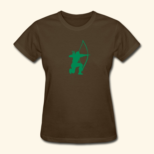 archer longbow medieval design patjila2 - Women's T-Shirt