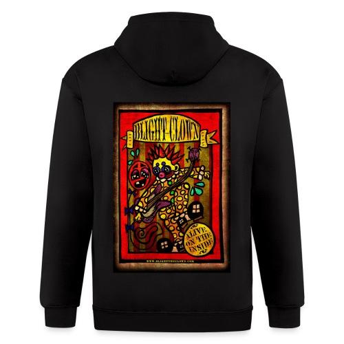 Blight's Sideshow Banner Hoodie! - Men's Zip Hoodie