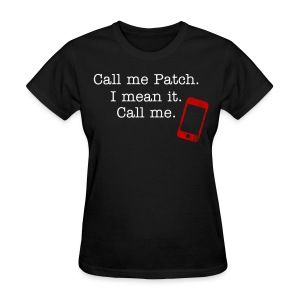 Call Me w/phone - Women's T-Shirt