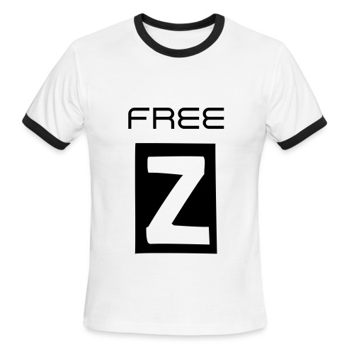 Free Z - Men's Ringer T-Shirt