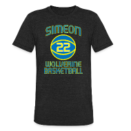 T-Shirts ~ Unisex Tri-Blend T-Shirt by American Apparel ~ SIMEON - JABARI PARKER