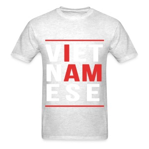 I AM Vietnamese - Custom Back Design - Men's T-Shirt