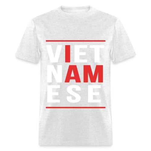I AM Vietnamese - Custom Back Design - Men's T-Shirt