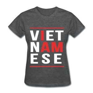 I AM Vietnamese - Custom Back Design - Women's T-Shirt