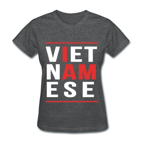 I AM Vietnamese - Custom Back Design - Women's T-Shirt